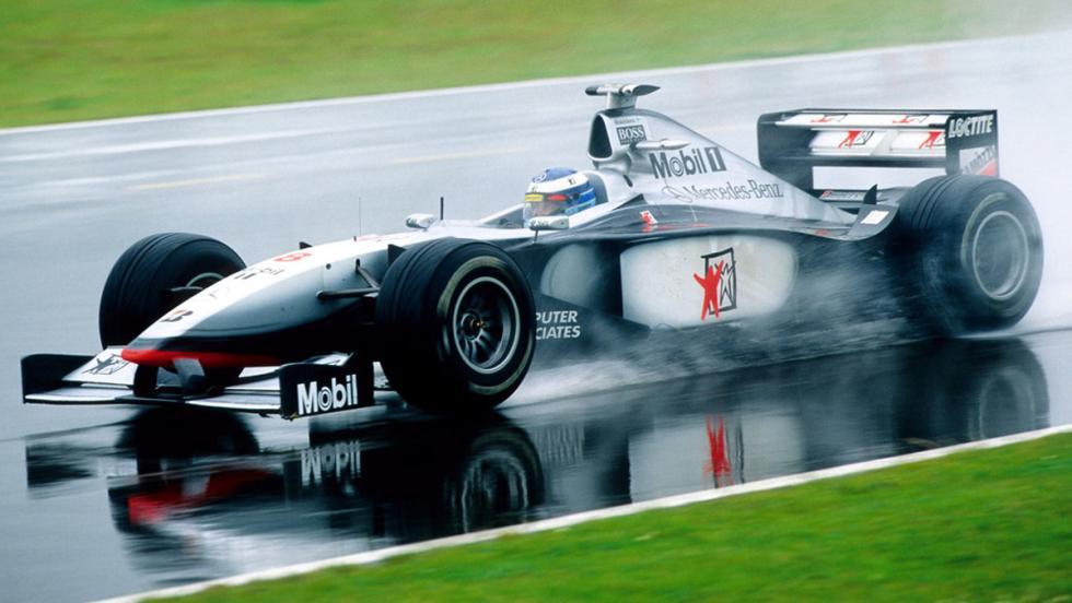 El MP4/13 y Mikka Hakkinen se apuntan el último mundial de constructores de McLaren en 1998