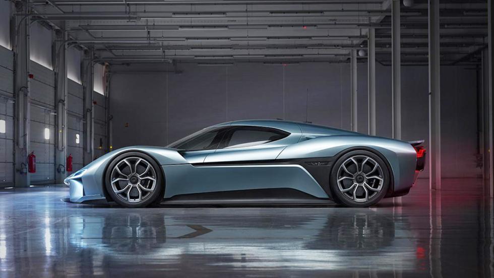 NextEV Nio EP9 - Tiene una aerodinámica espectacular