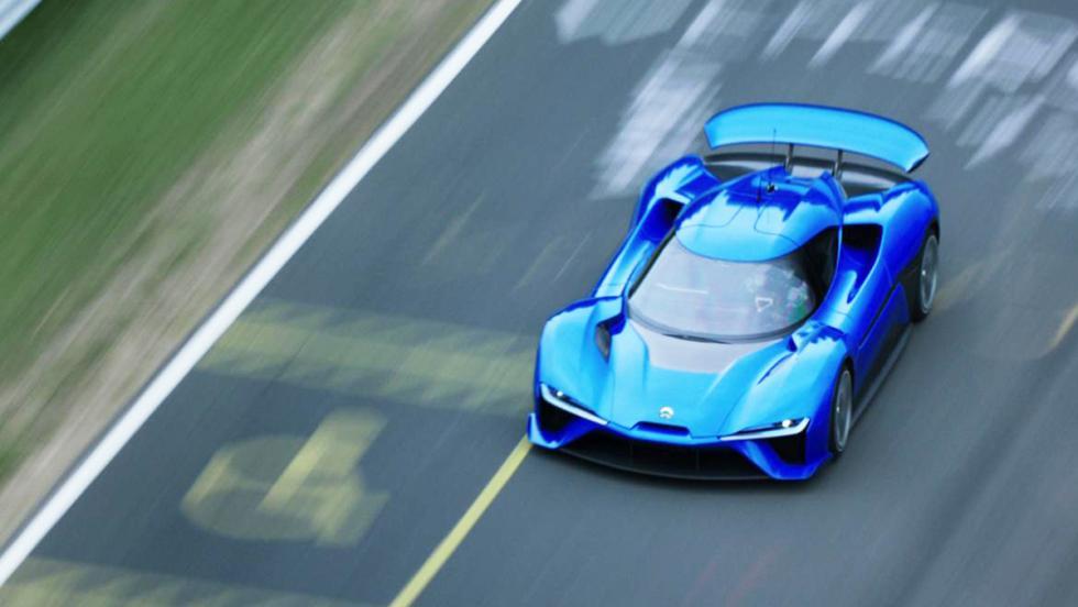 NextEV Nio EP9 - Ha sido el eléctrico más rápido en Nürburgring, pero podría haberlo hecho mejor...