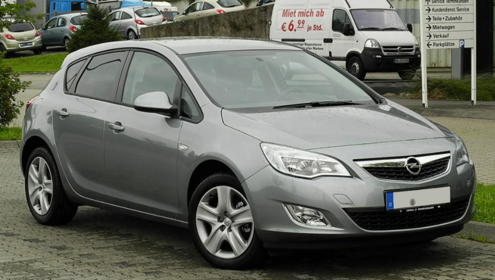 Opel Astra J (2009 - 2015)