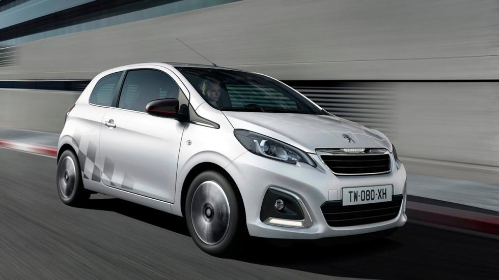 Peugeot 108 coches ligeros utilitario ciudad barato