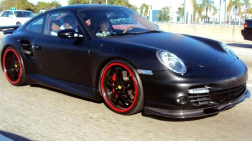 El Porsche 997 Turbo de Justin Bieber