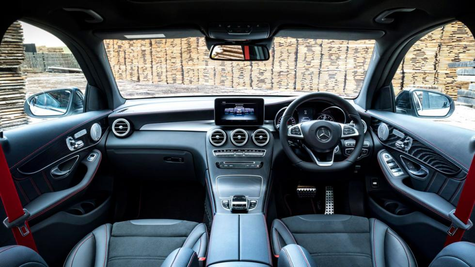 Prueba Mercedes-AMG GLC 43 (V)