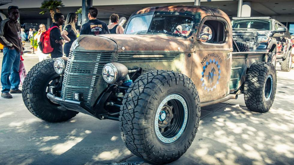 Rat Rod Trophy Truck