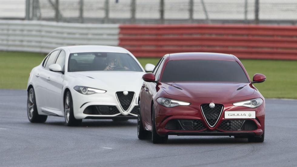 Récord Alfa Romeo Giulia en Silverstone