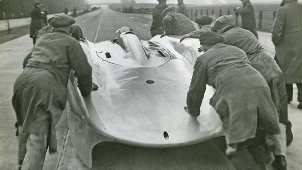 Rosemeyer y su Auto Union camino de la eternidad