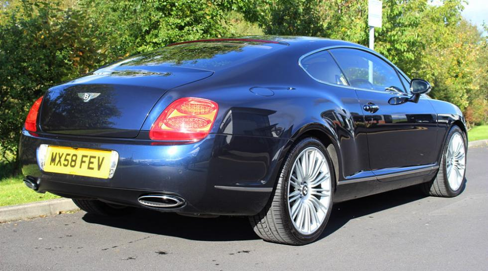 A subasta el Bentley Continental GT Speed de Cristiano Ronaldo