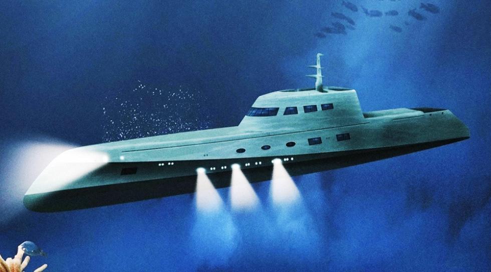 Submarino Lovers Deep - 200.000€ por noche