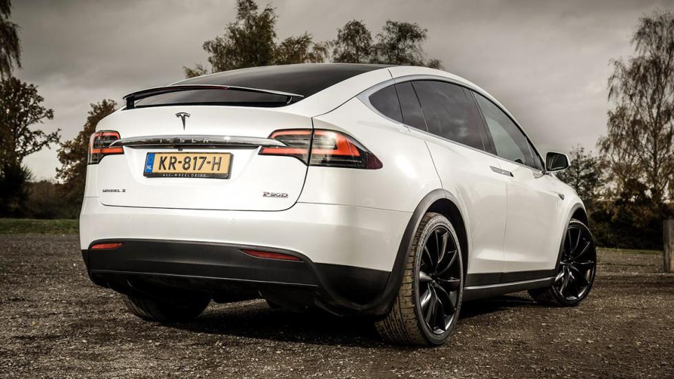 Tesla Model X, a prueba