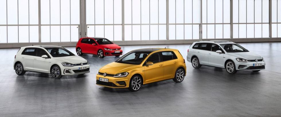 Volkswagen Golf 2017: gama
