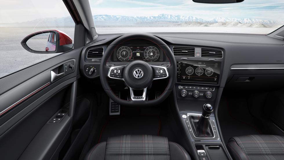 Volkswagen Golf GTI 2017 (cuadro)