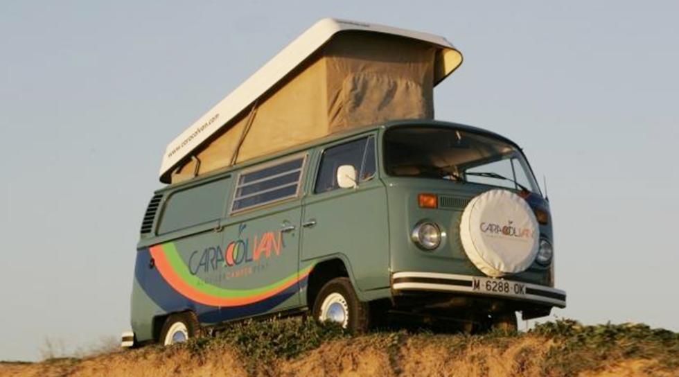 Volkswagen T2 Caracolvan - 1.000€ por semana aprox.