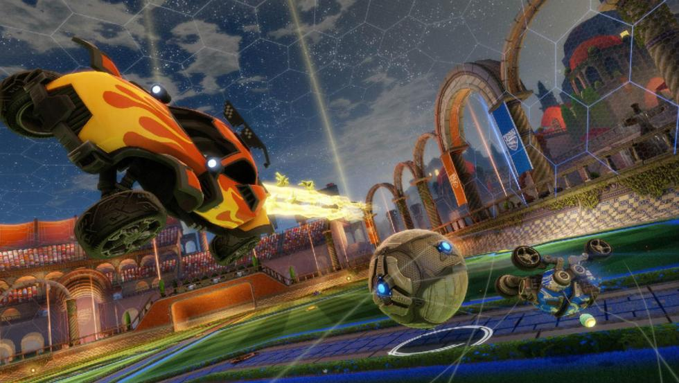 10: Rocket League – PlayStation 4, Xbox One, PC (2015)