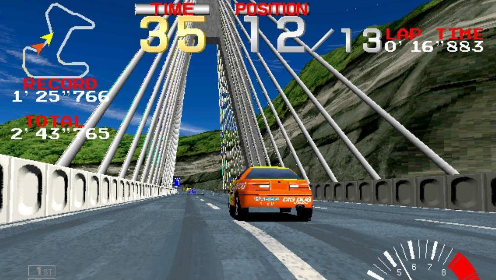 15: Ridge Racer - PlayStation (1995)