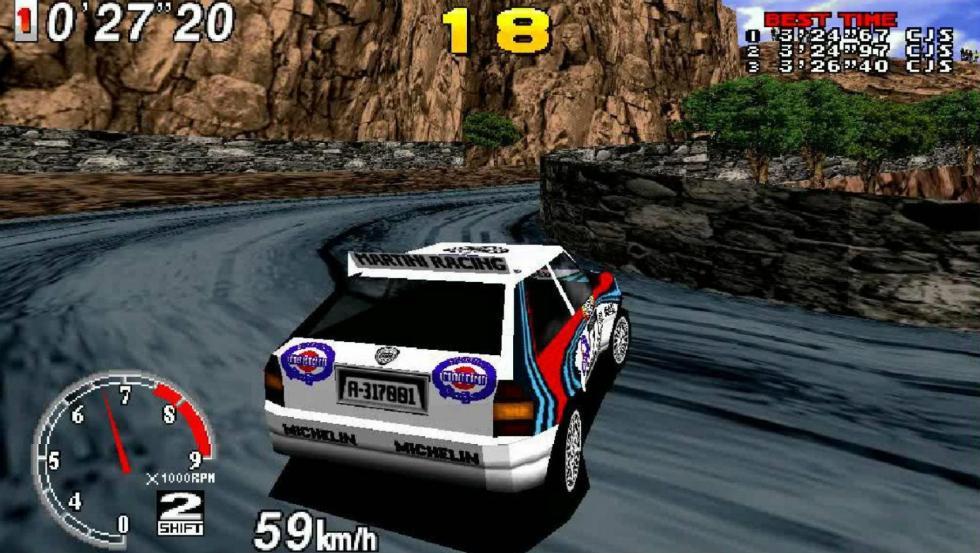 2: Sega Rally Championship - Arcade (1994)