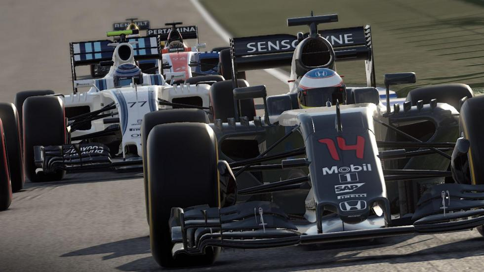 20: F1 2016 – PC, PlayStation 4, Xbox One