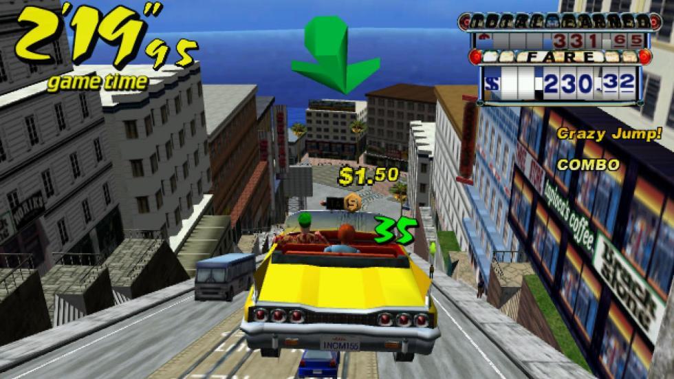 25: Crazy Taxi - Dreamcast (2000)