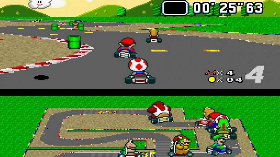 3: Super Mario Kart - SNES (1993)