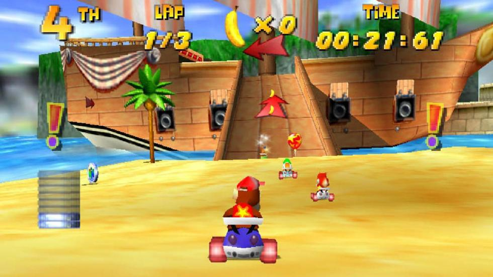 33: Diddy Kong Racing - N64 (1997)