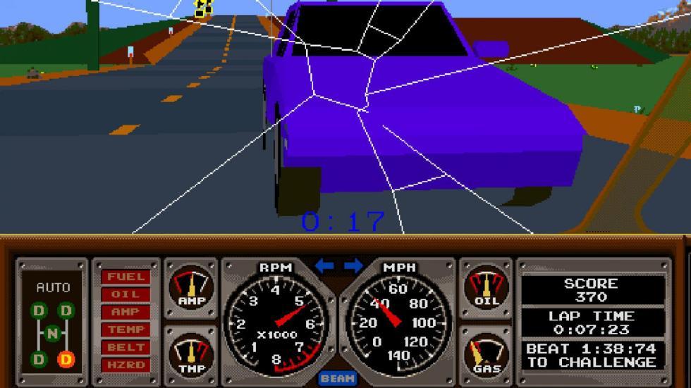 36: Hard Drivin' - Arcade (1989)