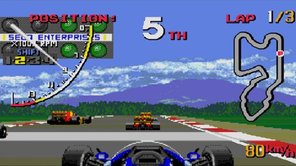 39: Ayrton Senna's Super Monaco GP II - Mega Drive (1992)