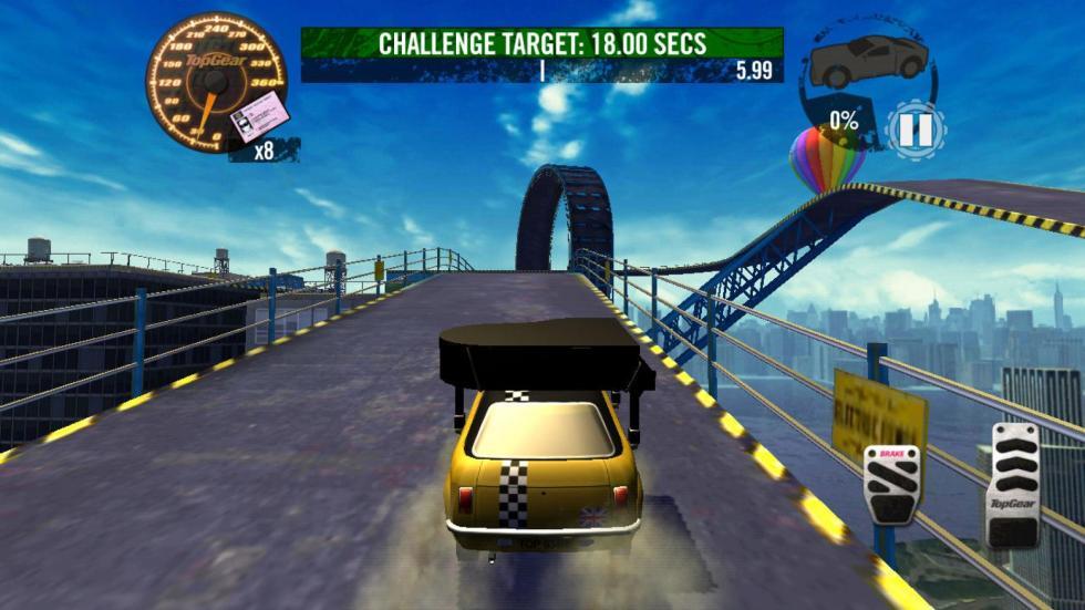 43: Top Gear Stunt School Revolution - iPad (2012)
