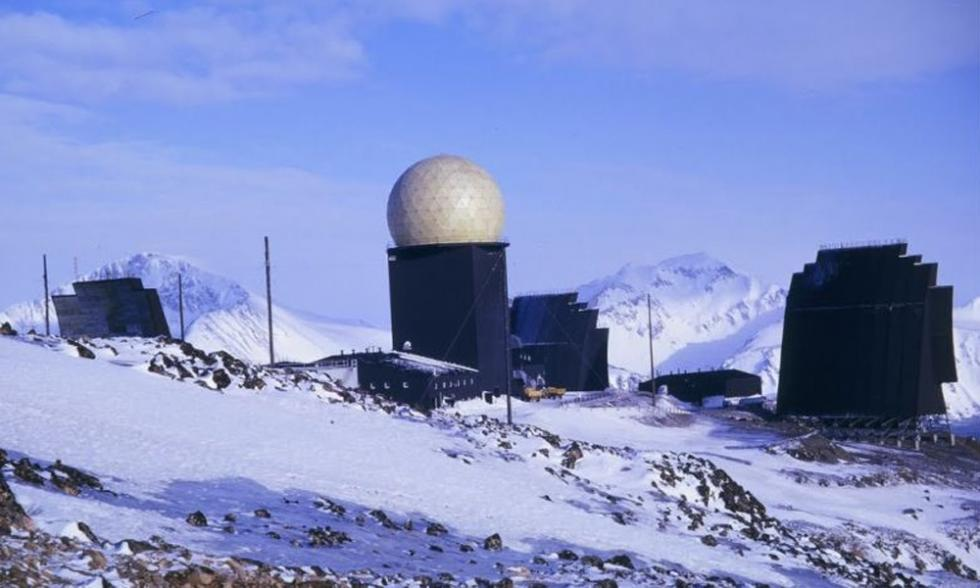 radares abandonados groenlandia