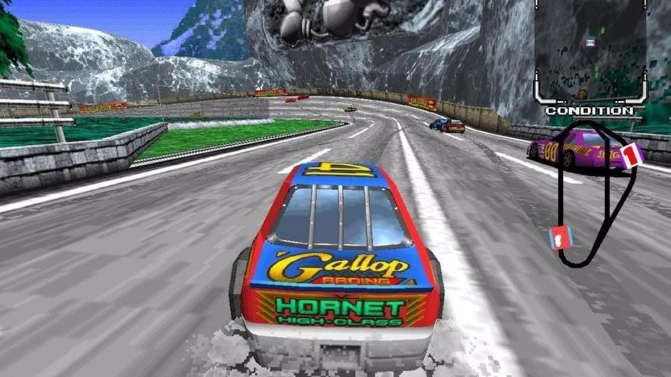 6: Daytona USA - Arcade (1993)