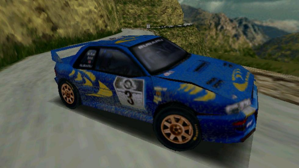 8: Colin McRae Rally - PlayStation (1998)