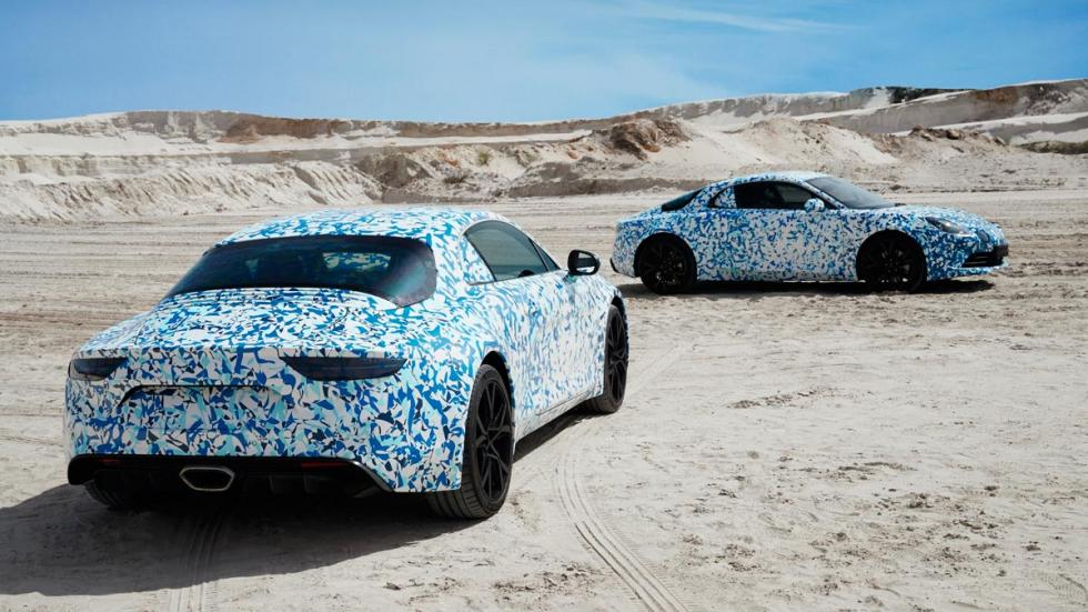 Alpine versión de producción camuflado deportivo premiere edition lujo