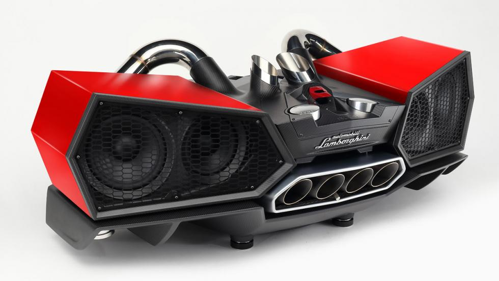 Altavoces Lamborghini Ixoost Esavox (III)