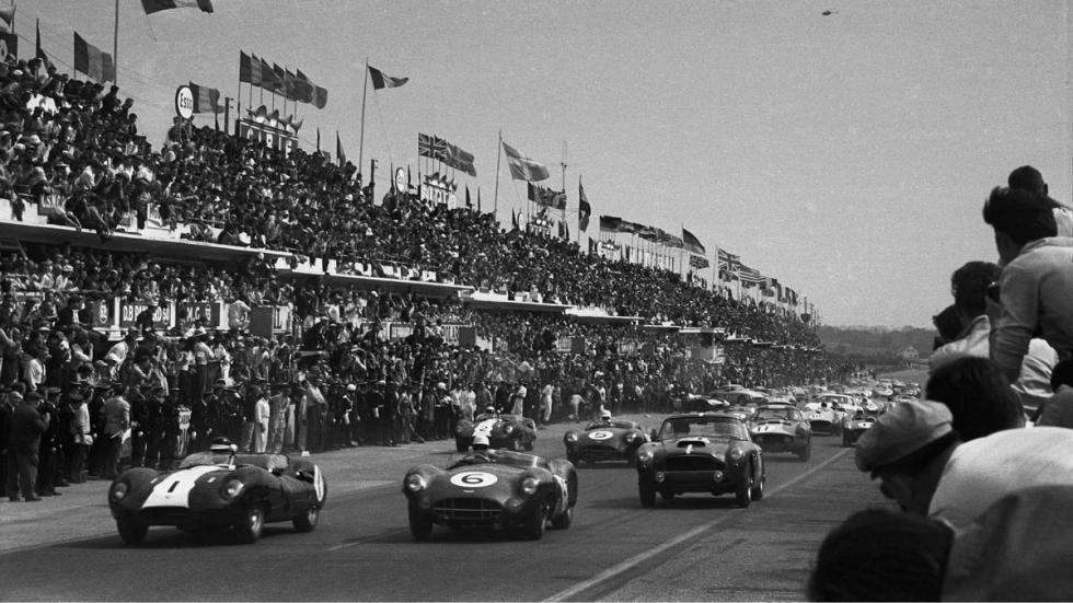 Aston Martin DB4 GT clasico competicion circuito lujo