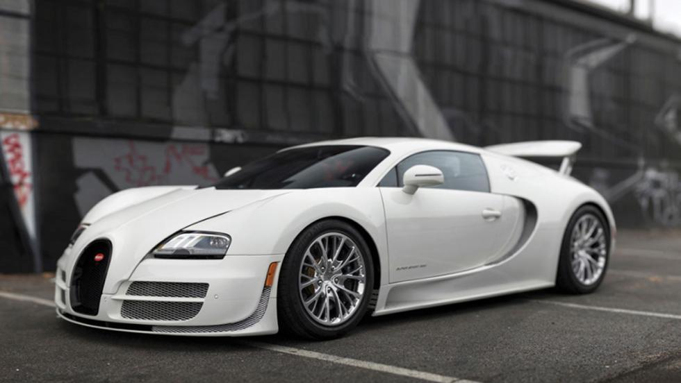 Bugatti Veyron Coupé Super Sport a subasta (I)
