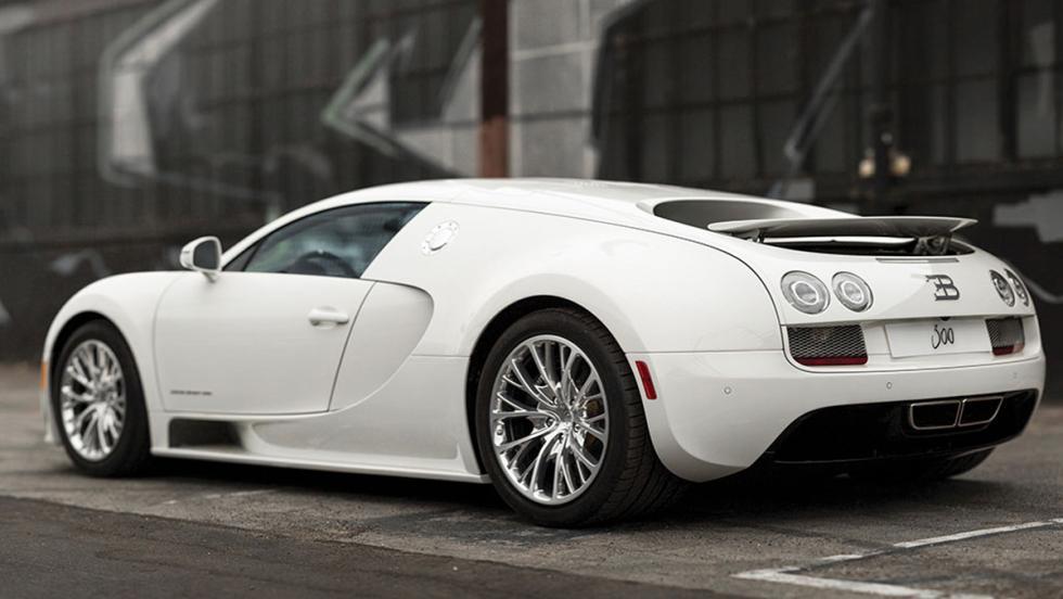 Bugatti Veyron Coupé Super Sport a subasta (II)