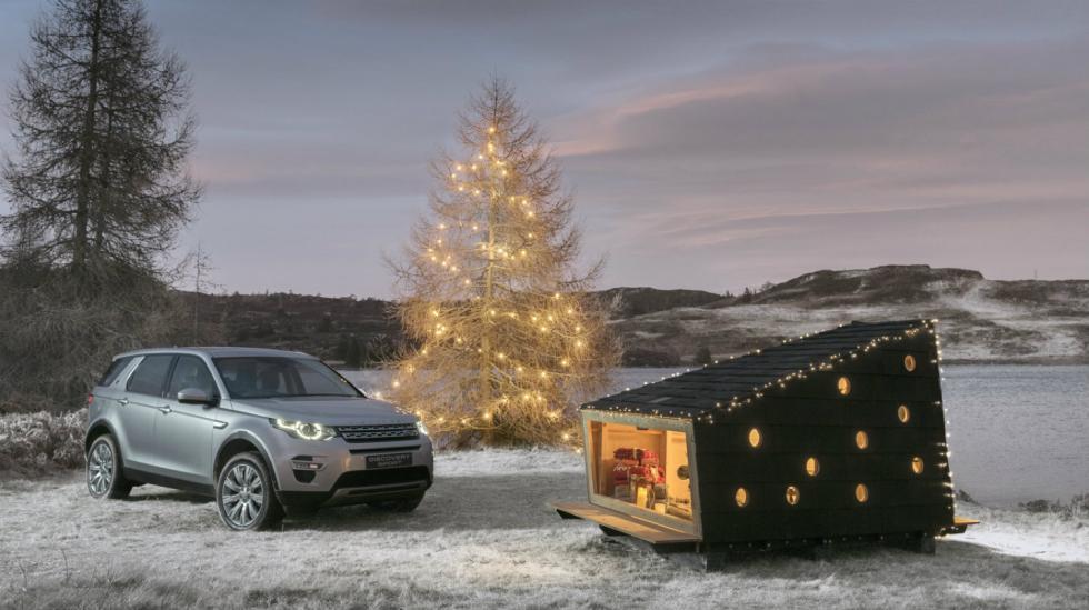 Cabaña del Land Rover Discovery Sport 2017