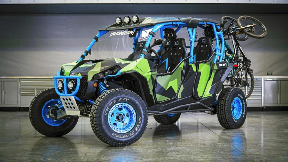 Can-Am Maverick Ken Block buggy garaje coches