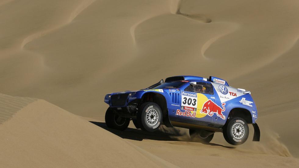 Carlos Sainz conquistó el Dakar 2010 en la categoría de coches con un VW Touareg