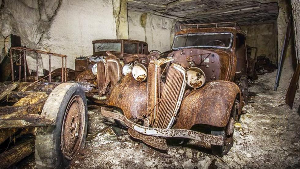El cementerio de coches más siniestro del mundo