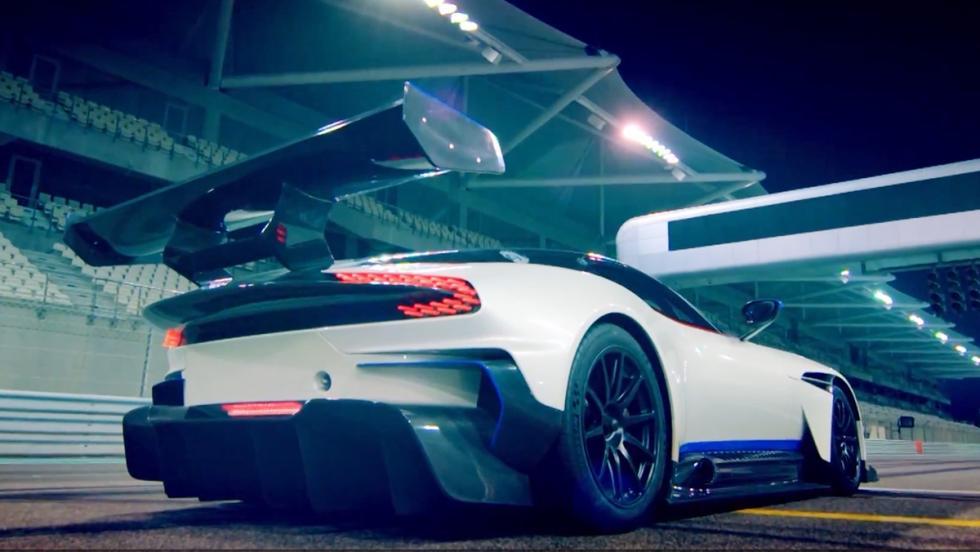 Chris Harris y el Aston Martin Vulcan