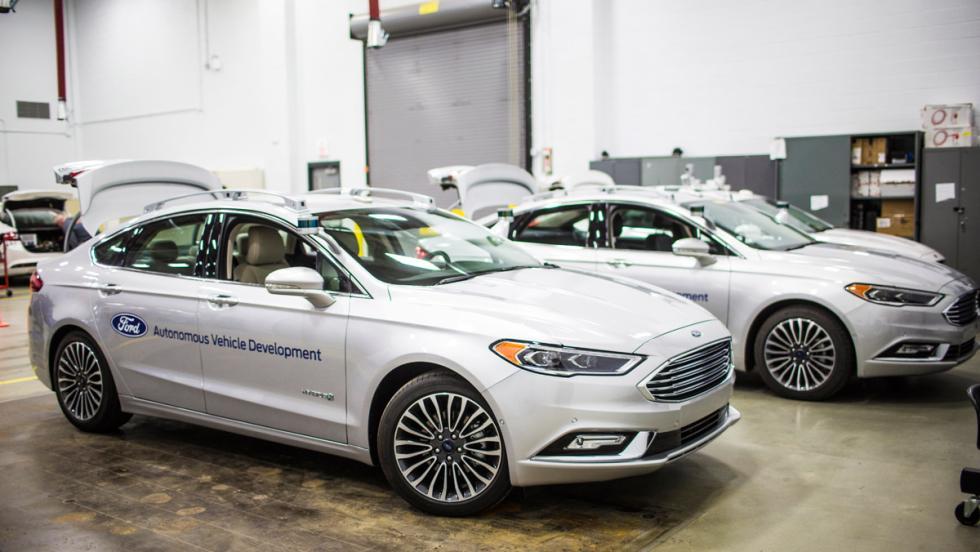Coche autónomo de Ford (II)
