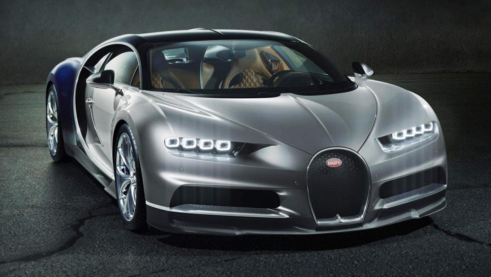 Los coches más rápidos de 2016 - Bugatti Chiron - 1.500 CV, 420 km/h