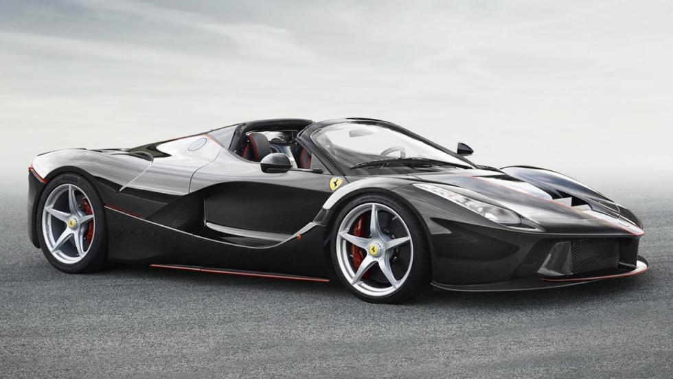 Los coches más rápidos de 2016 - Ferrari LaFerrari Aperta - 963 CV, 350 km/h