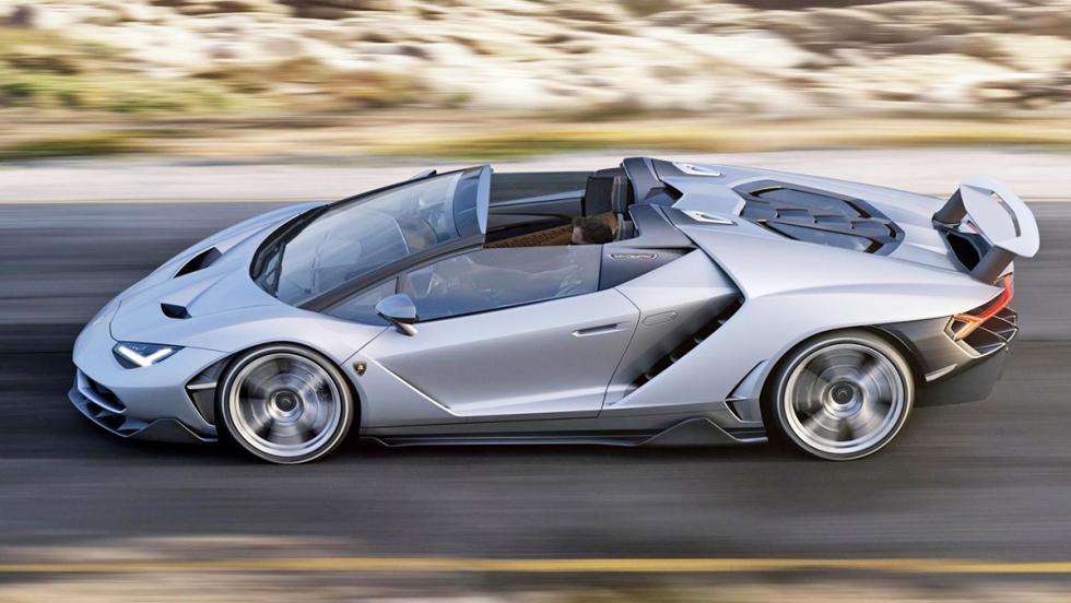 Los coches más rápidos de 2016 - Lamborghini Centenario Roadster - 770 CV, 350 km/h