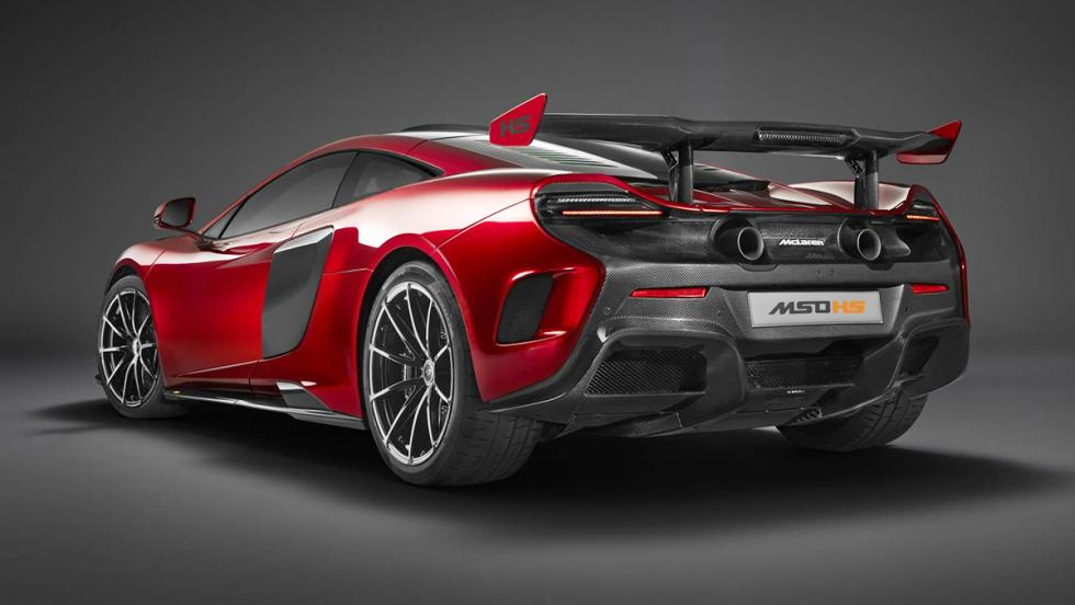 Los coches más rápidos de 2016 - McLaren 688 HS - 688 CV, 335 km/h