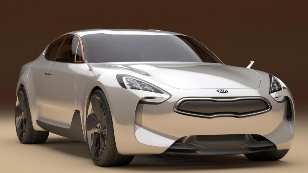 Poderoso frontal del concept Kia GT