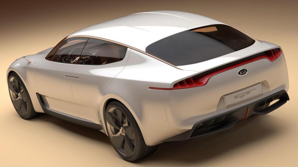Trasera del concept Kia GT