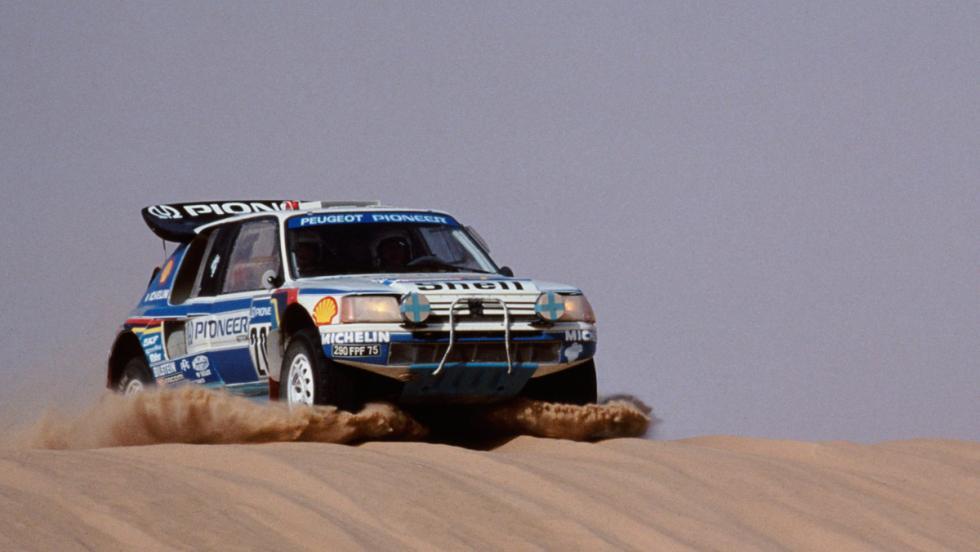 Dakar 2017: Peugeot 205 Turbo 16 vs Peugeot 3008 DKR (II)