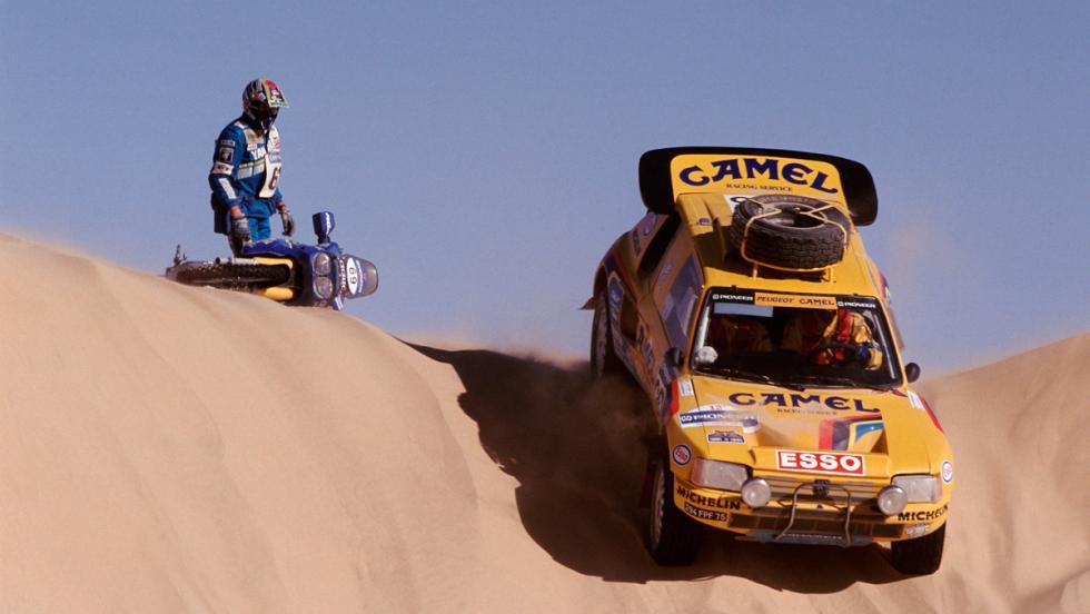 Dakar 2017: Peugeot 205 Turbo 16 vs Peugeot 3008 DKR (VI)