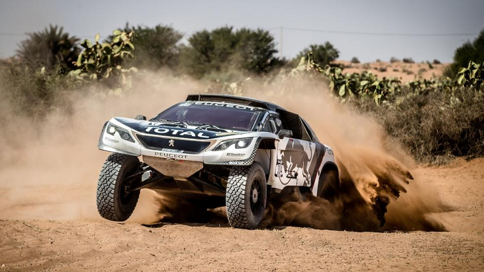 Dakar 2017: Peugeot 205 Turbo 16 vs Peugeot 3008 DKR (VIII)