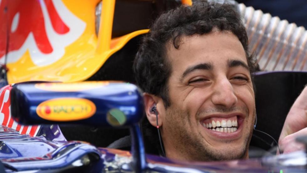 Daniel Ricciardo, el australiano sonriente en 2016